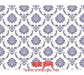 【BZH71】欧式壁纸花矢量图