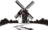 【Y297】风车矢量图