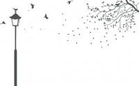 【XD04-1】灯树藤矢量图