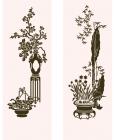 【ZS-04-05】花盆竹子矢量图