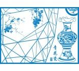 【Y5-K110】青花瓷矢量图