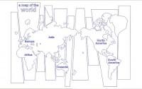 【B-WS-12】地图和树矢量图