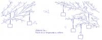 【V-KT-48】树和小鸟和照片墙矢量图