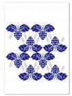【KTY-012】葡萄藤类壁纸花
