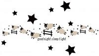 【BO-WS-042】小羊肖恩 星星和英文矢量图