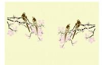 【XZS-WS-016】玉兰花 小鸟对花矢量图