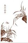 【YY-CT-002】春谷幽香和兰花矢量图