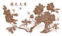 【YY-KTSF-042】国色天香牡丹矢量图