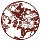 【YY-SFXG-044】牡丹和喜鹊矢量图