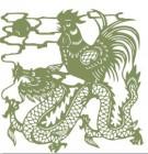 【YY-KTSF-034】龙和公鸡矢量图