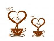 【CTP-047】心形 咖啡杯 矢量图