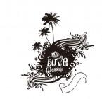 【ETP-087】椰树 love 矢量图