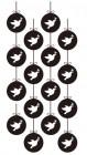 【AA-OMF-042】小鸟墙挂矢量图