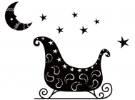 【YY-KT-272】五角星 月亮 矢量图