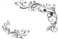 【YY-KT-196】花藤对花 五瓣花 六瓣花  矢量图