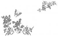 【YY-KT-319】蝴蝶 牡丹 矢量图
