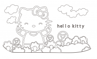 【YY-KT-555】hello Kitty 猫 矢量图