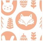 【YY-B033】狐狸 兔子 矢量图