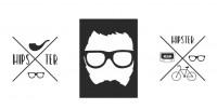 【YY-BS03-1】自行车 眼镜 矢量图