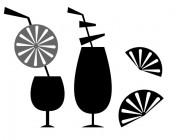 【YY-XD03-2】饮料杯 矢量图