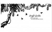 【YY-XD11-1】树 小鸟 love 矢量图