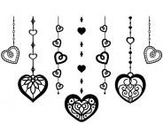 【YY-OS14】心形墙挂 矢量图
