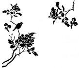 【YY-ZS12-1】牡丹 小鸟 矢量图
