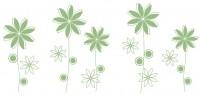 【KT-3041】多瓣花 八瓣花 矢量图