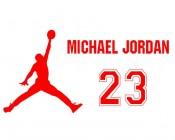 【KT-3033】打篮球 23 michael joroaw 矢量图