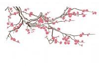 【KT-3061】梅花 矢量图