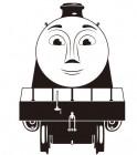 【KT-3107】卡通火车矢量图