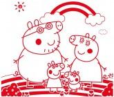 【KT-3132】小猪佩奇 矢量图
