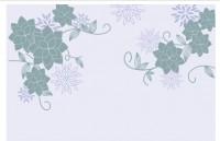 【KT-2548】多瓣花对花 矢量图