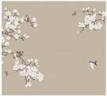 【KT-2638】白玉兰 喜鹊登枝  矢量图