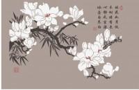 【KT-2650】桃花  矢量图
