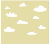 【KT-2689】白云  矢量图