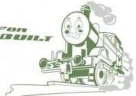 【KT-3184】火车  矢量图