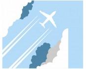 【KT-3165】飞机 矢量图