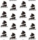 【DZH-813】船 矢量图