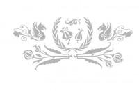 【BO-3122】动物 三瓣花 皇冠花  矢量图
