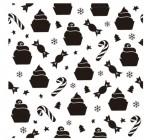 【BO-313】蛋糕 糖果 星星 雪花  矢量图