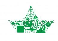 【MS-172】鲸鱼 船 五角星 矢量图