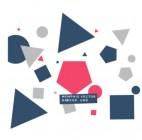 【XD-5223】三角形 圆形 正方形 多边形  矢量图
