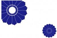 【XD-5183】多瓣花散花 矢量图