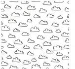 【XD-581】白云 矢量图