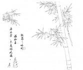 【ZS-443】咏竹 矢量图