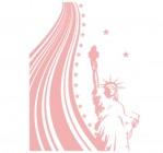 【KT-2766】自由女神像矢量图