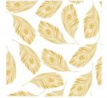【KT-2772】羽毛壁纸花 矢量图