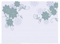 【KT-2829】多瓣花对花 矢量图