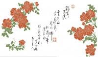 【KT-2906】牡丹 矢量图